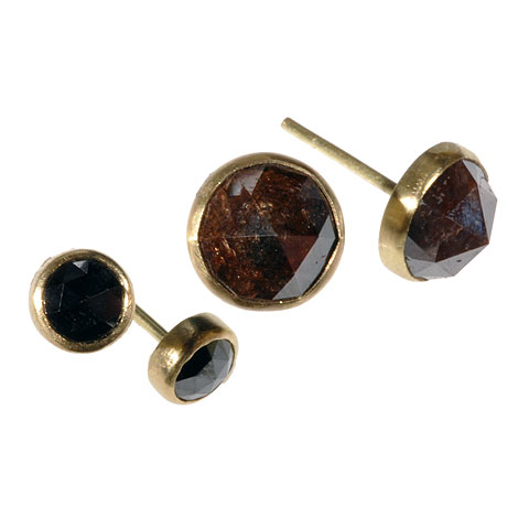 Opaque Diamond Studs